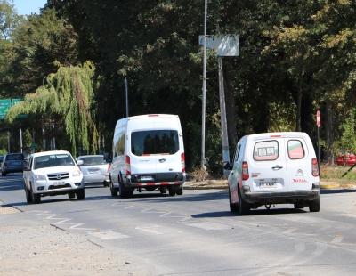 Comenzaron desvíos por trabajos de remodelación de Avenida Kennedy en Rancagua
