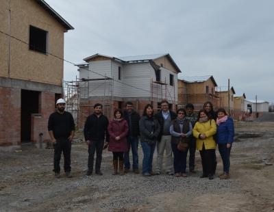 Peralillo: Minvu avanza en construcción de conjunto Jardines de Colchagua