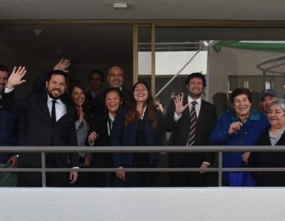 Con nuevo Condominio Doña Laura, San Fernando vive la integración social