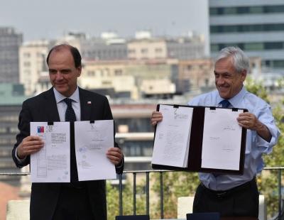 Presidente Piñera firma proyecto de Ley de Integración Social y Urbana que crea el Ministerio de Ciudad y Vivienda