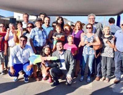 Vecinos del conjunto habitacional Aires de la Cruz de Rancagua recibieron sus nuevas viviendas gracias al apoyo de MINVU Y SERVIU O'Higgins