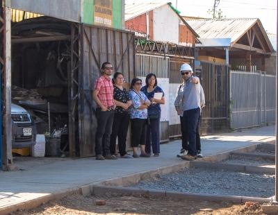 Rancagua: Trabajos de consolidación de calle Los Olivos presentan un 70% de avance