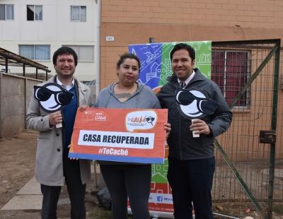 """Avanza Plan de Fiscalización """"Te Caché"""" para erradicar mal uso de viviendas sociales"""