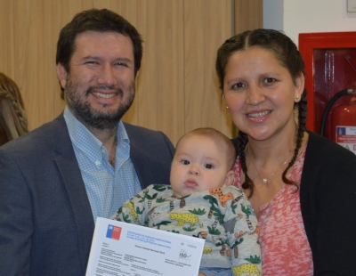 Serviu O'Higgins entregó subsidios habitacionales a familias de Rengo